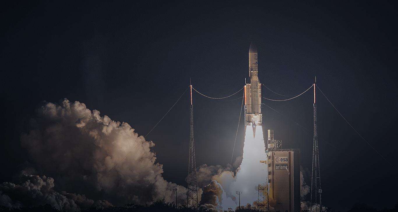 Airbus Safran Launchers: 77. erfolgreicher Ariane-5-Flug in Folge