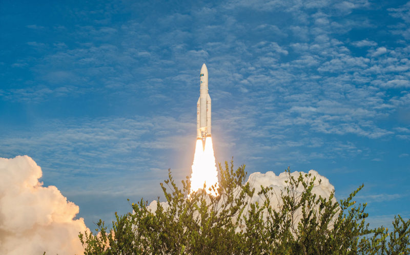 80th consecutive successful launch for Ariane 5