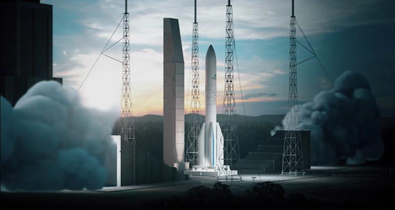 Erster erfolgreicher Test des Ariane-6 Vulcain-Triebwerks