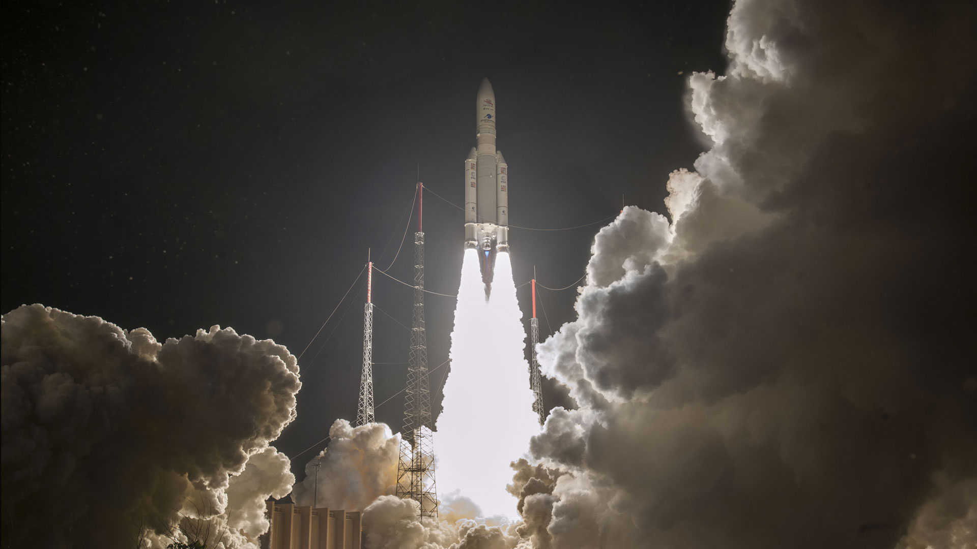 Ariane 5 Launches BepiColombo on its way to Mercury