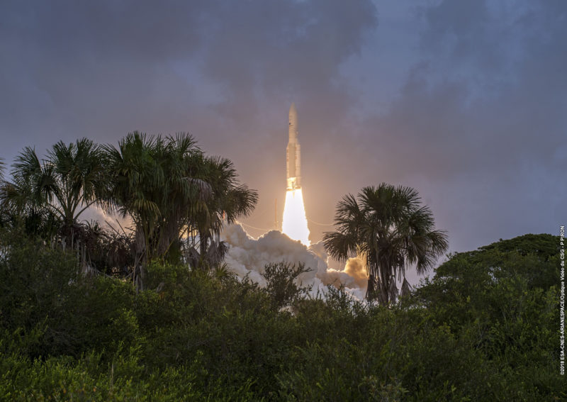 Sechster erfolgreicher Ariane-5-Flug in diesem Jahr