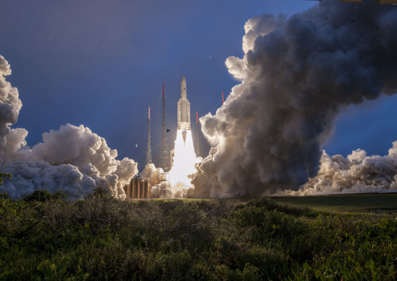 Ariane 5's First 2019 Launch is a Success