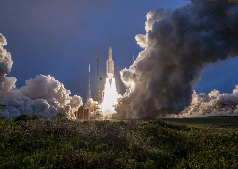 Ariane 5 réussit son 1er lancement de 2019