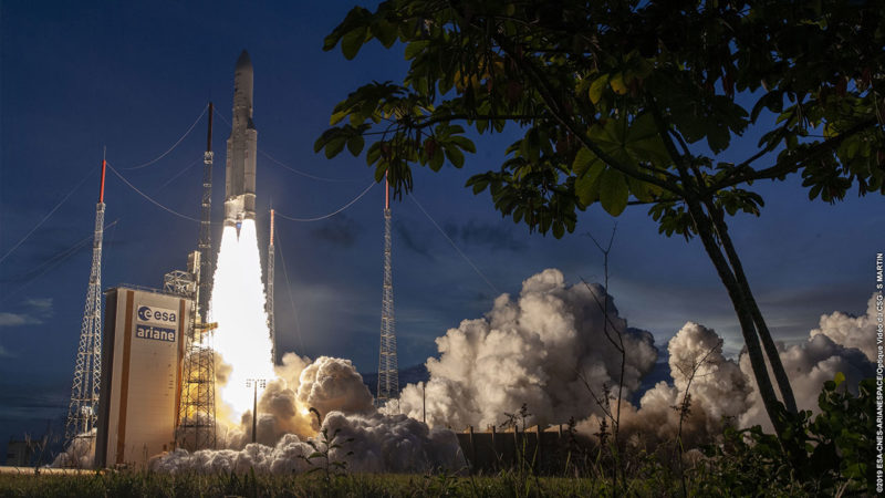 Another Ariane 5 successful launch of two telecommunications satellites