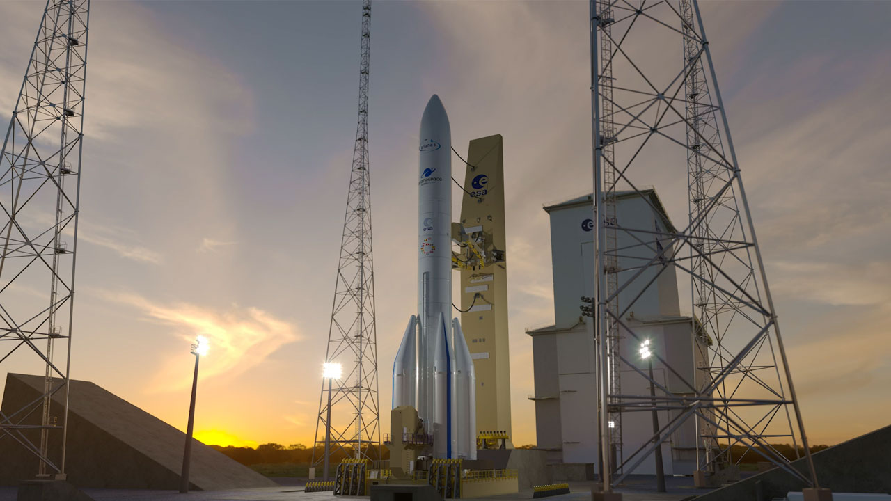 Hinter den Kulissen der Ariane 6 in Französisch-Guayana: Entdecken Sie das neue Video
