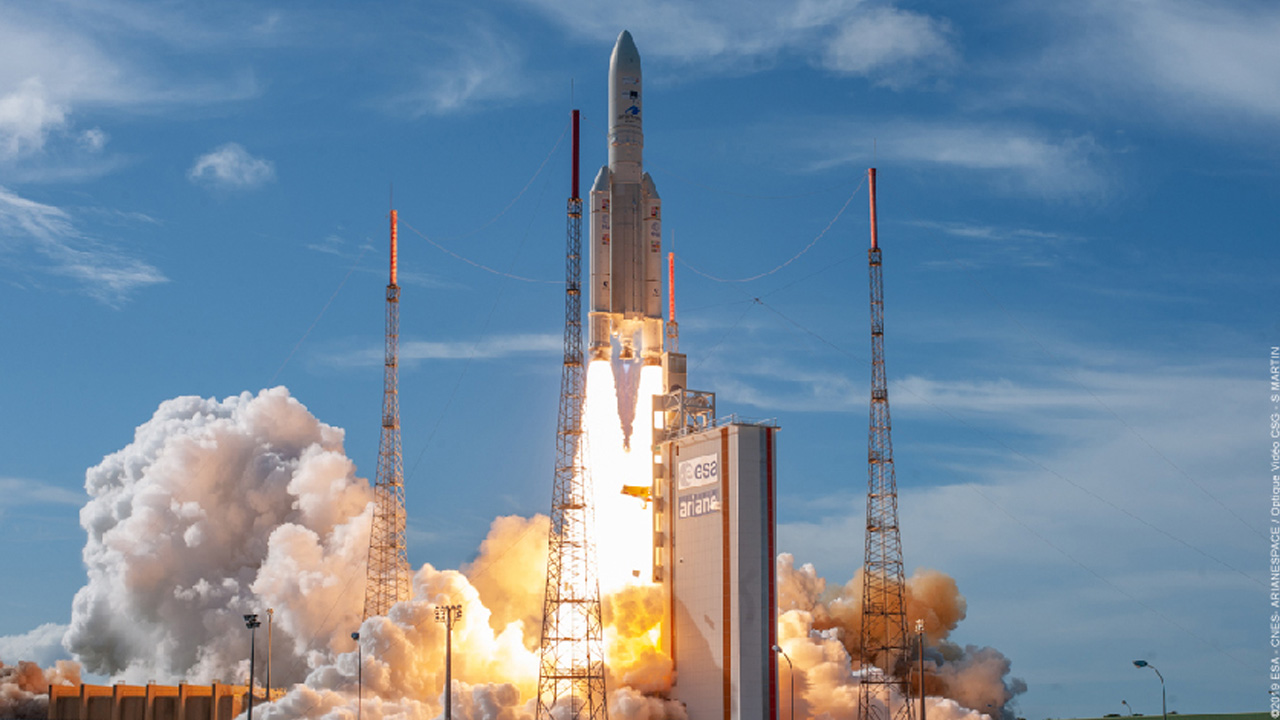 A new success for Ariane 5, equipped with an extended upper stage