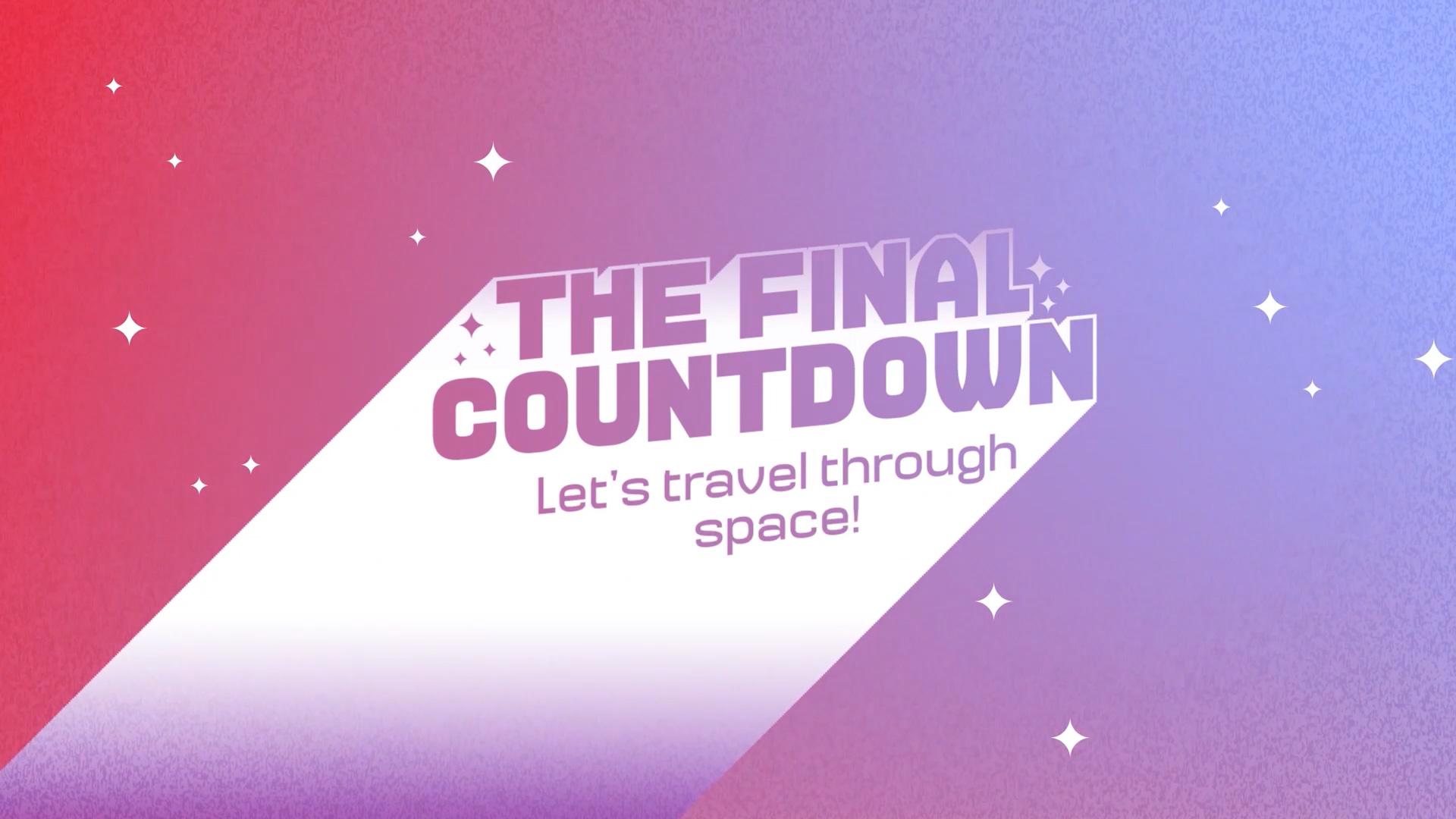 The Final Countdown: Die Talkshow, die Sie mit an Bord der Ariane nimmt