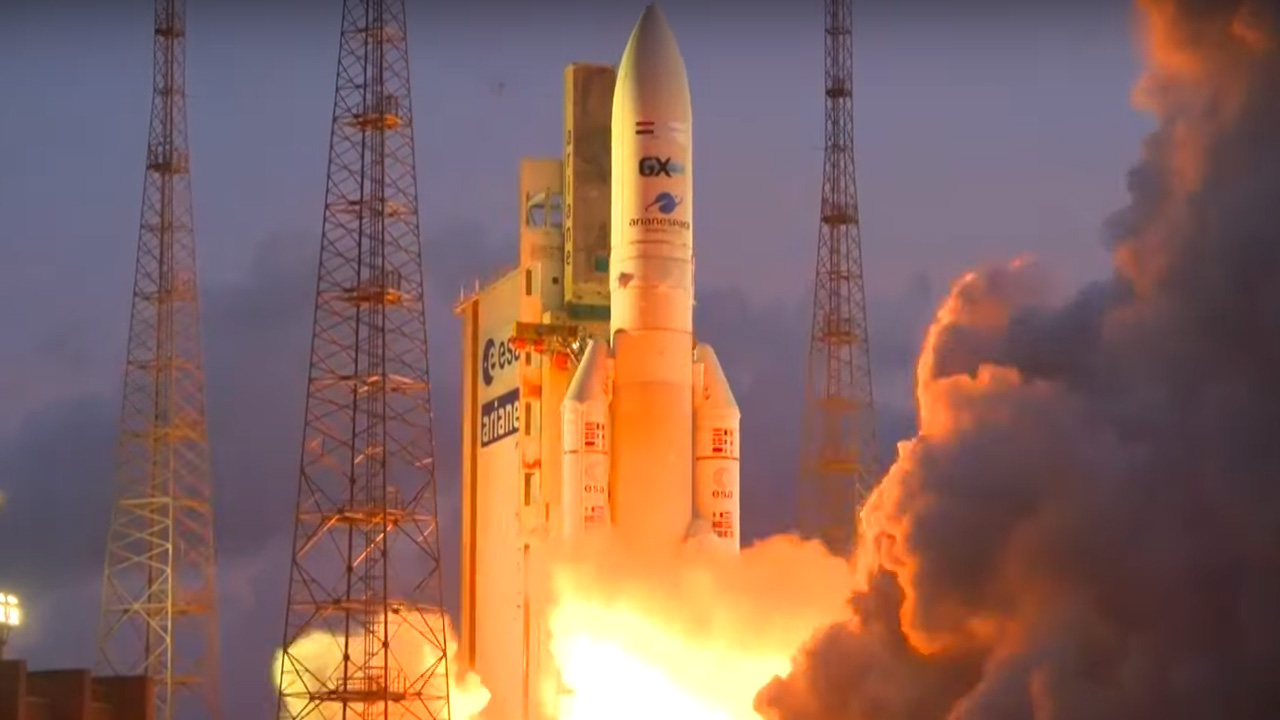 Ariane successfully completes launch No. 250 and celebrates its 40th birthday