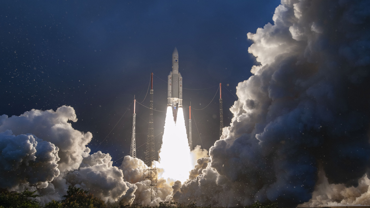 Ariane 5's First 2020 Launch is a Success