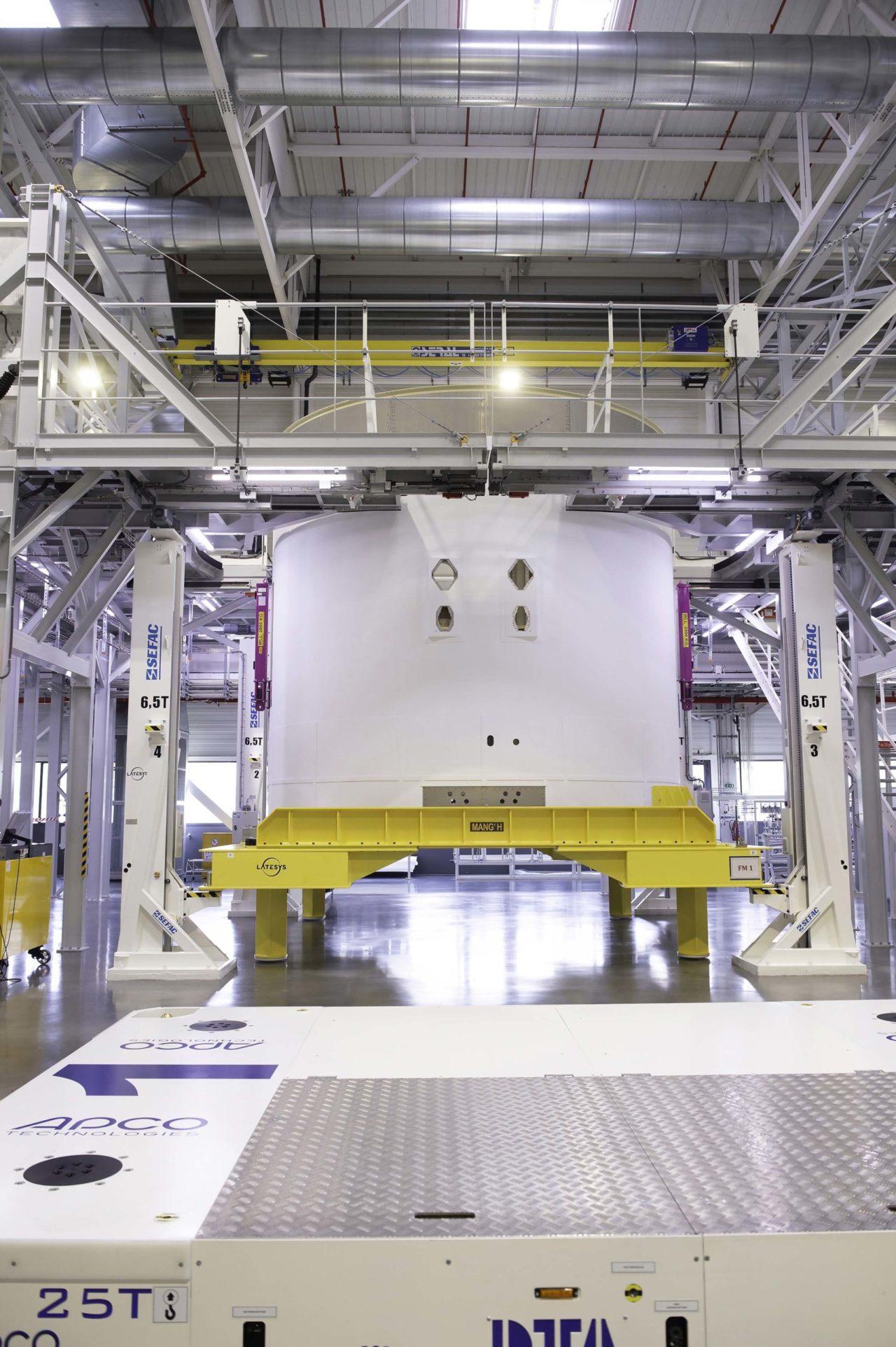 Mit der Lieferung des VuABs schreitet das Projekt Ariane 6 voran und rückt seinem Ziel näher.