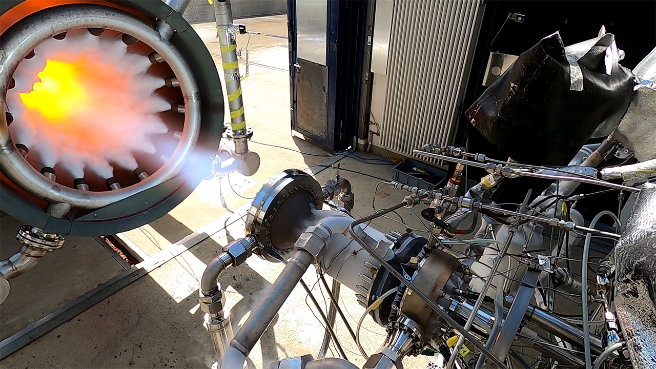ArianeGroup successfully tests combustion chamber produced entirely by 3D printing