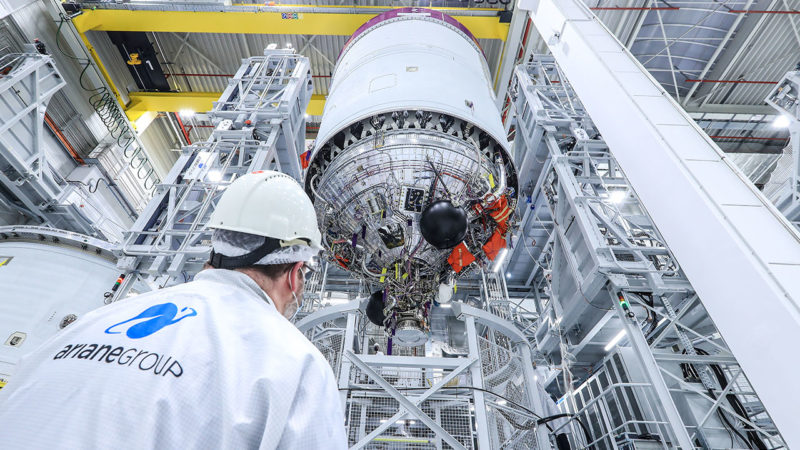 Ariane 6: First upper stage ready for hot-fire testing