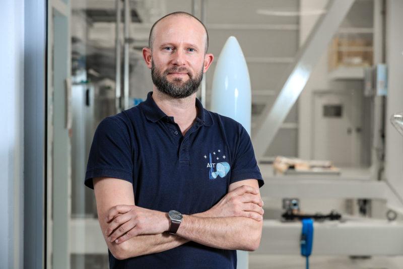 Les visages d'Ariane 6 : Max Reinhardt, responsable des processus de production d'Ariane 6 à Brême