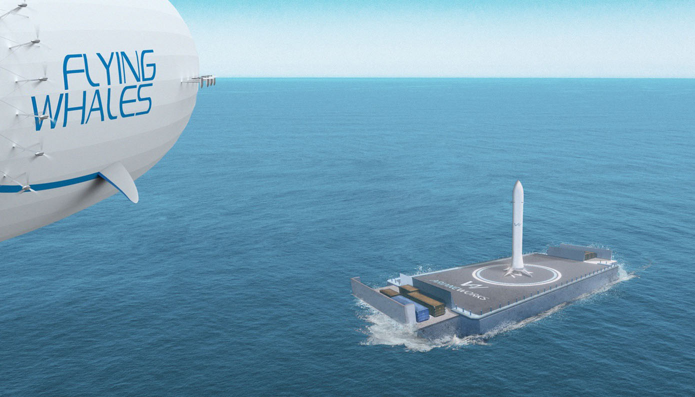 [ITW] Flying Whales: what if a giant airship were used to transport the Themis reusable launcher stage demonstrator?