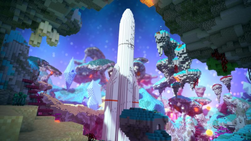 The mighty Ariane 5 launcher comes to Minecraft
