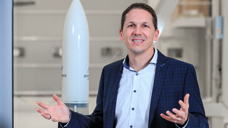 Die Gesichter hinter Ariane 6: Produktionsleiter Siljan Schröder, Bremen