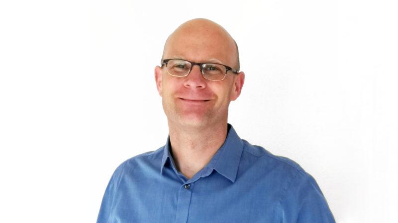 Technikexperte Sebastian Soller und die Triebwerke der Zukunft