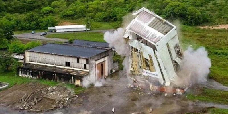 ArianeGroup démolition bâtiment