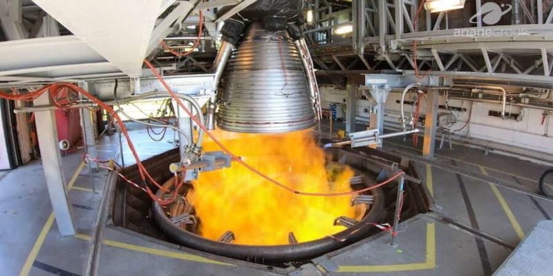 Arianegroup moteur vulcain 2.1 tests à feux vernon Ariane 6