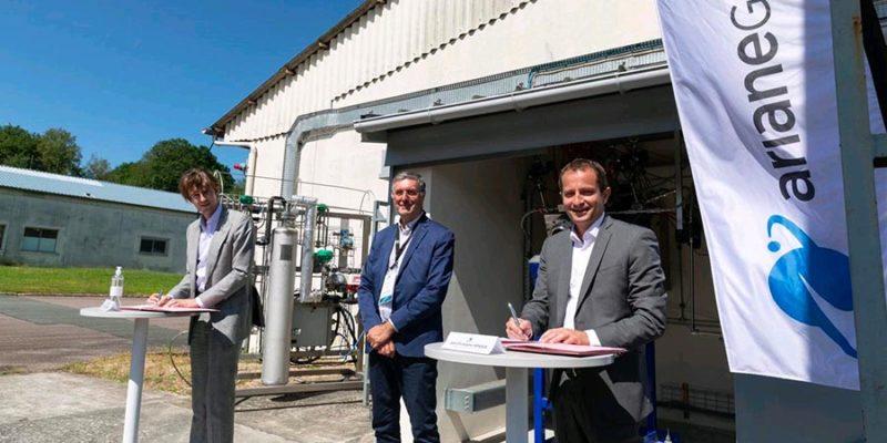 ArianeGroup VOS signature accord in Vernon