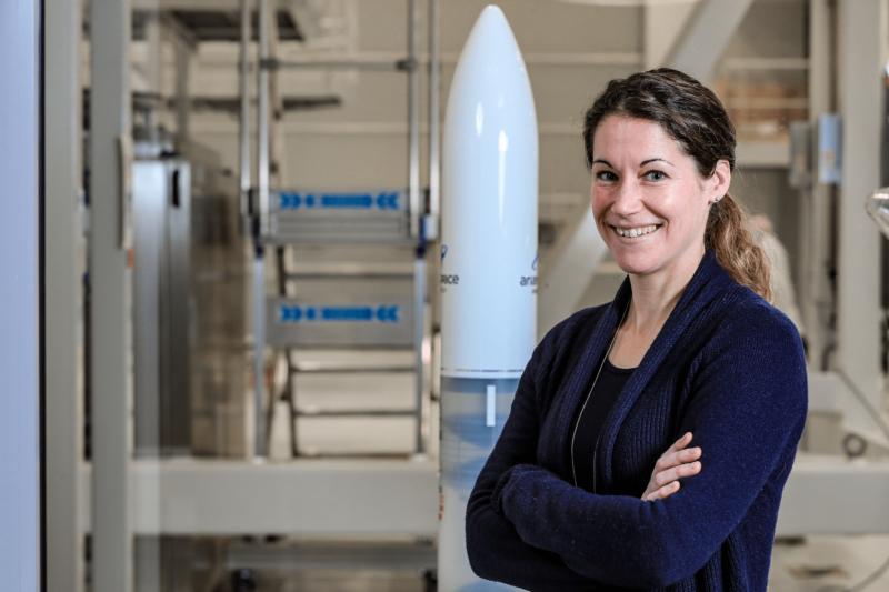 Les visages d'Ariane 6 : Cornelia Lux, Cheffe d'équipe d'ingénierie industrielle